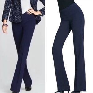 Cabi Midnight In Paris Navy Trouser Pants Size 8